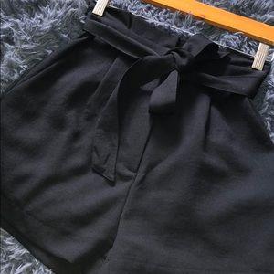 Brand new black high waisted shorts